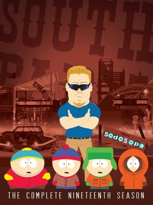 SOUTH PARK: THE COMPLETE NINETEENTH SEASON. (DVD Artwork). ©Comedy Central.