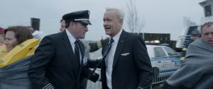 "Center right) TOM HANKS as Chesley ""Sully"" Sullenberger in Warner Bros. Pictures' and Village Roadshow Pictures' drama ""SULLY."" ©Warner Bros. Entertainment."