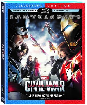 MARVEL'S CAPTAIN AMERICA: CIVIL WAR. (DVD Artwork). ©Walt Disney Studios.
