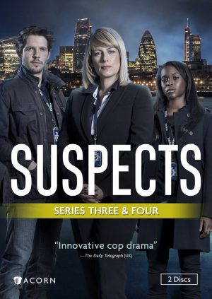 SUSPECTS SERIES THREE & FOUR. (DVD Artwork). ©Acorn.