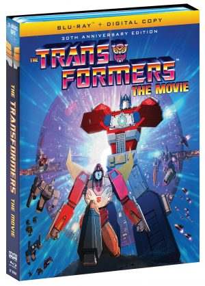 THE TRANSFORMERS THE MOVIE. (DVD Artwork). ©Shout.