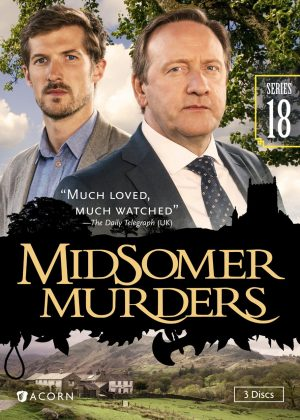MIDSOMERS MURDERS SERIES 18. (DVD Artwork). ©Acorn.