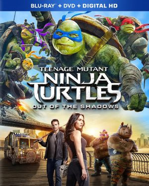 TEENAGE MUTANT NINJA TURTLES: OUT OF THE SHADOWS. (DVD Artwork). ©Paramount.