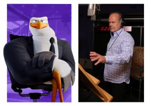 Kelsey Grammer voices the character Hunter in STORKS. ©Warner Bros. Entertainment. CR: Eric Charbonneau