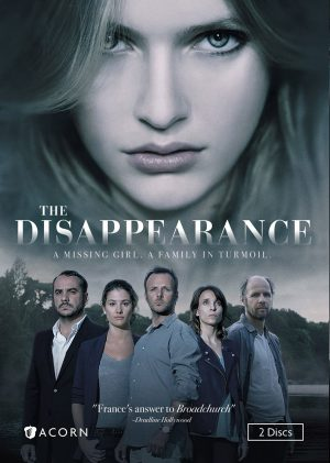 THE DISAPPEARANCE. (DVD Artwork). ©Acorn.