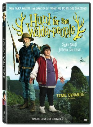 HUNT FOR WILDERPEOPLE. (DVD Artwork). ©Sony Pictures Home Entertainment.