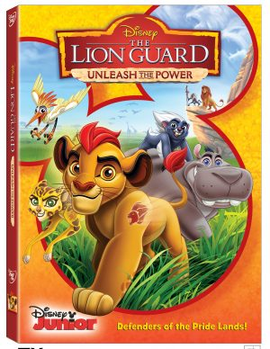 THE LION GUARD: UNLEASH THE POWER. (DVD Artwork). ©Walt Disney Studios.