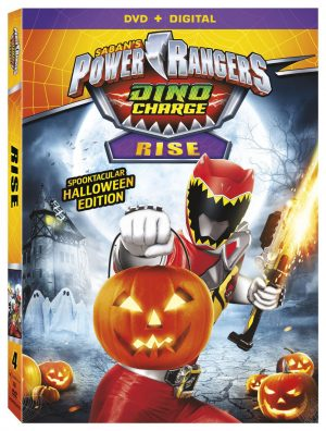 SABAN'S POWER RANGERS DINO CHARGE: RISE. (DVD Artwork). ©Lionsgate.