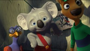 Ryan Kwanten voices Blinky Bill in BLINKY BILL THE MOVIE. ©Shout! Kids.