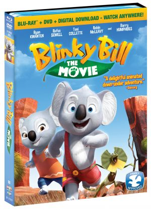 BLINKY BILL THE MOVIE! (DVD Artwork). ©Shout! Kids.