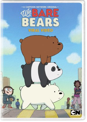 WE  BARE BEARS VIRAL VIDEO. (DVD Artwork). ©Cartooon Network.
