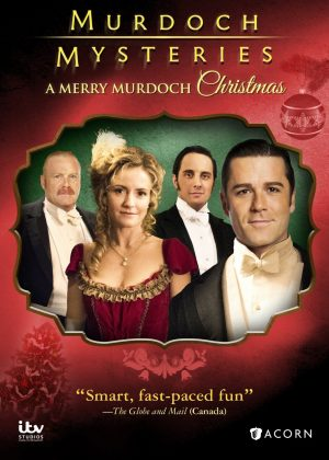 MURDOCH MYSTERIES: A MERRY MURDOCH CHRISTMAS. (DVD Artwork). ©ITV Studios.