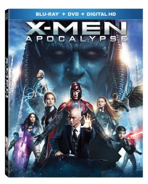 X-MEN APOCALYPSE (DVD Artwork). ©20th Century Fox.
