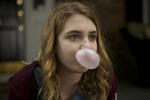 Gilly Hopkins (Sophie Nélisse) in THE GREAT GILLY HOPKINS. ©Lionsgate Premiere.