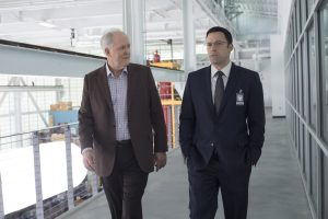 (l-r) John LIthgow as Lamar Blackburn and Ben Affleck as Chris Wolff in THE ACCOUNTANT. ©Warner Bros. Entertainment. CR: Chuck Zlotnick.