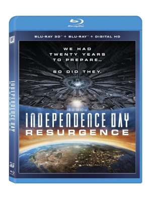 INDEPENDENCE DAY RESURGENCE. (DVD Artwork). ©20th Century Fox.