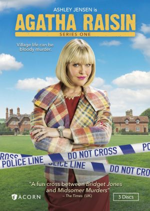 AGATHA RAISIN. (DVD Artwork). ©Acorn.
