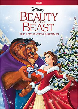 BEAUTY AND THE BEST THE ENCHANTED CHRISTMAS. (DVD Artwork). ©Walt Disney Home Video.