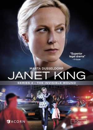 JANET KING SERIES 2: THE INVISIBLE WOUND. (DVD Artwork). ©Acorn.
