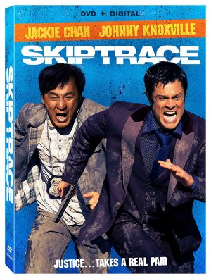 SKIPTRACE. (DVD Artwork). ©Lionsgate.