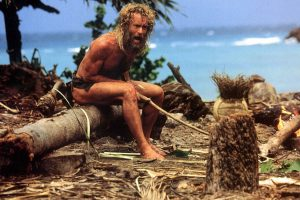 Tom Hanks in CASTAWAY. ©20th Century Fox. CR: Mary Evans.