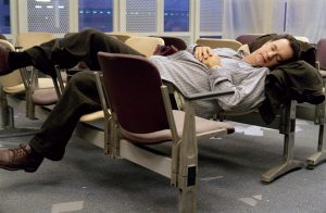 Tom Hanks in THE TERMINAL. ©Dreamworks.