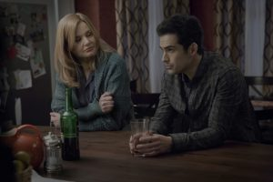 (l-r) Geena Davis and Alfonso Herrera in THE EXORCIST.  ©2016 Fox Broadcasting Co.  Cr:  Chuck Hodes/FOX