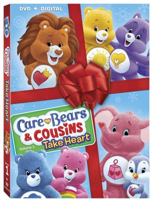 CARE BEARS & COUSINS: TAKE HEART-VOLUME 1. (DVD Artwork). ©Lionsgate.