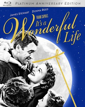 IT'S A WONDERFUL LIFE. Platinum Anniversary Edition. (DVD Artwork). ©Paramount.