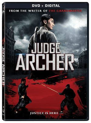 JUDGE ARCHER. (DVD Artwork). ©Lionsgate.