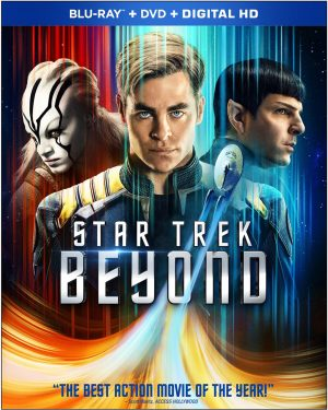 STAR TREK BEYOND. (DVD Artwork). ©Paramount.