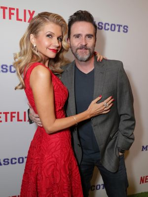 Susan Yeagley and Christopher Moynihan seen at Netflix original film 'Mascots' Los Angeles Special Screening on Wednesday, October 05, 2015, in Los Angeles, CA]. © Eric Charbonneau/Netflix.
