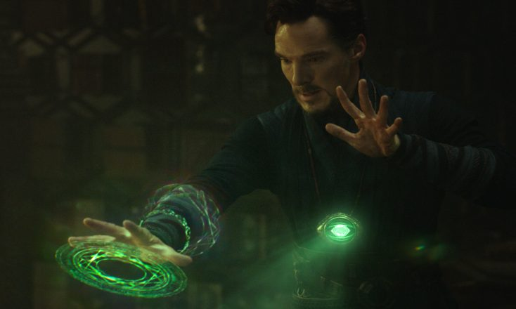 Benedict Cumberbatch Conjures Marvel Hero in 'Doctor Strange'