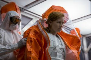 Amy Adams as Louise Banks in ARRIVAL. ©Paramount Pictures. CR: Jan Thijs.