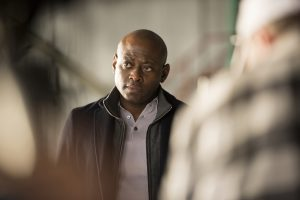Omar Epps as Isaac Johnson stars in SHOOTER. ©Dean Buscher/USA Network