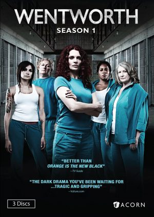 WENTWORTH SEASON 1. (DVD Artwork). ©Acorn.