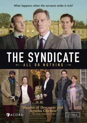 THE SYNDICATE ALL OR NOTHING. (DVD Artwork). ©Acorn.