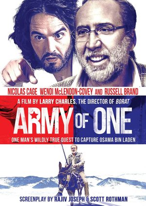 ARMY OF ONE. (DVD Artwork). ©Anchor Bay.