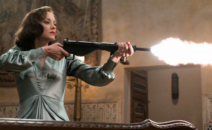 Spy Games: Marion Cotillard Co-stars with Brad Pitt in 'Allied'