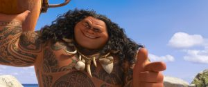 "Dwyane ""The Rock"" Johnson voices Maui in MOANA. ©2016 Disney. All Rights Reserved."