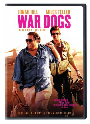WAR DOGS. (DVD Artwork). ©Warner Home Video.