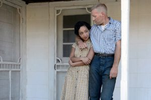 Ruth Negga (left) stars as Mildred and Joel Edgerton (right) stars as Richard in Jeff Nichols LOVING. ©Ben Rothstein / Focus Features