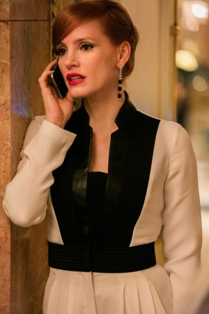 Jessica Chastain stars in EuropaCorp's MISS SLOANE. ©EuropaCorp – France 2 Cinema