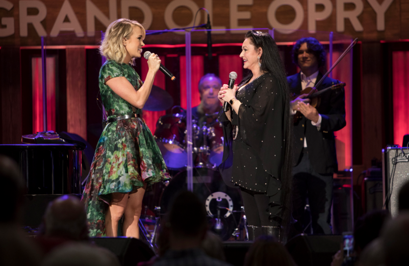 Crystal Gayle Not So 'Blue' with Opry Honor - Front Row Features