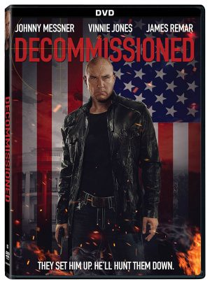 DECOMMISSIONED. (DVD Artwork). ©Lionsgate.