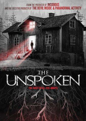 THE UNSPOKEN. (DVD Artwork). ©Anchor Bay.