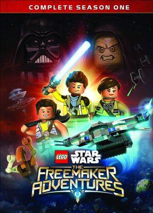 LEGO STAR WARS: THE FREEMAKER ADVENTURES. (DVD Artwork). ©Buena Vista Home Entertainment.