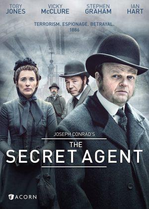 THE SECRET AGENT. (DVD Artwork). ©Acorn.
