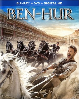 BEN-HUR. (DVD Artwork). ©Paramount.