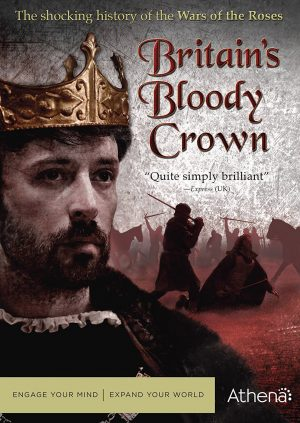BRITAIN'S BLOOD CROWN. (DVD Artwork). ©Acorn Media.